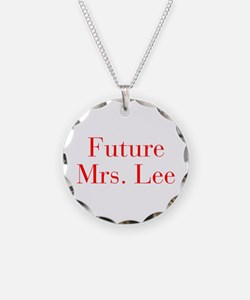 Future Mrs Lee-bod red Necklace
