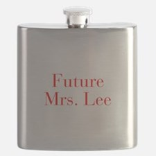 Future Mrs Lee-bod red Flask