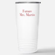 Future Mrs Martin-bod red Travel Mug