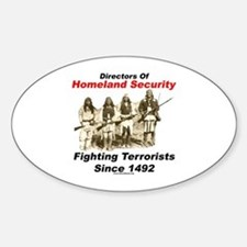 Fighting Terrorism Since 1492 - Apache Decal