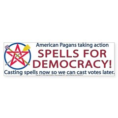 Spells for Democracy! Bumper Bumper Sticker