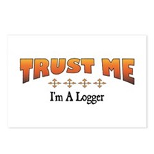 Trust Logger Postcards (Package of 8)