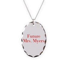 Future Mrs Myers-bod red Necklace