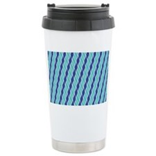 Shades of Blue Travel Mug