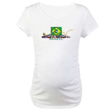 Brazil Maternity T-Shirt