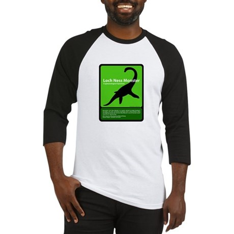 Loch Ness Monster Baseball Jersey