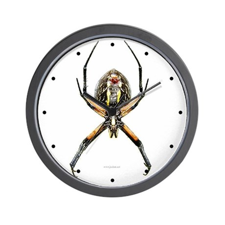 Spider Wall Clock By Joekaz