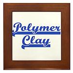 Polymer Clay Framed Tile