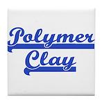 Polymer Clay Tile Coaster