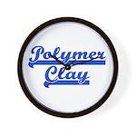Polymer Clay Wall Clock
