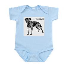 Classic Pit Bull Infant Creeper