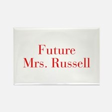 Future Mrs Russell-bod red Magnets