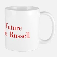 Future Mrs Russell-bod red Mugs