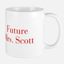 Future Mrs Scott-bod red Mugs