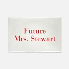 Future Mrs Stewart-bod red Magnets