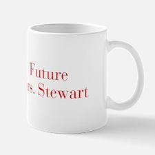 Future Mrs Stewart-bod red Mugs