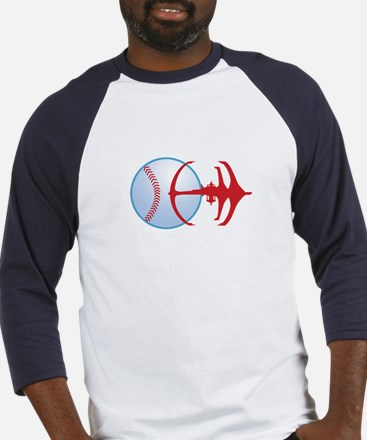 Deep Space Niners Logo Baseball Jersey
