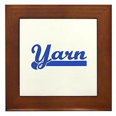 Yarn - Knit, Crochet, etc. Framed Tile