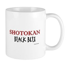 Shotokan Black Belt 1 Small Mug