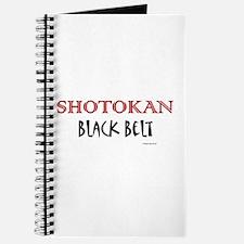 Shotokan Black Belt 1 Journal