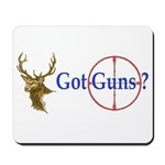 Got Guns Mousepad