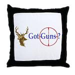 Got Guns Throw Pillow
