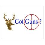 Got Guns Small Poster
