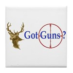 Got Guns Tile Coaster
