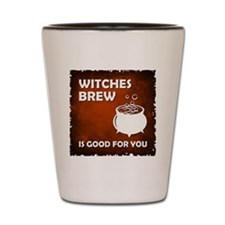 WITCHES BREW Shot Glass