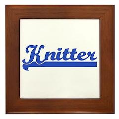 Knitter - Knitting Framed Tile