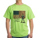 Press 1 for English? Green T-Shirt
