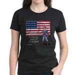 Press 1 for English? Women's Dark T-Shirt