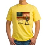 Press 1 for English? Yellow T-Shirt