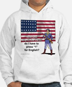 Press 1 for English? Jumper Hoody