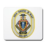 USS DAVID R. RAY Mousepad