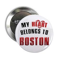 My HEART belongs to BOSTON - Button