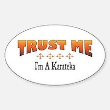 Trust Karateka Oval Decal