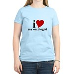 iHeart My Oncologist Women's Light T-Shirt