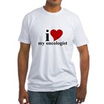 iHeart My Oncologist Fitted T-Shirt