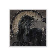 Gothic Friesian Horse Sticker