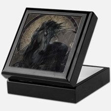 Gothic Friesian Horse Keepsake Box