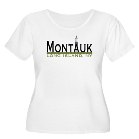 Montauk Women's Plus Size Scoop Neck T-Shirt