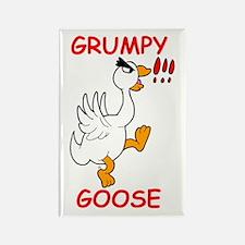 Grumpy Goose Rectangle Magnet