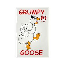 Grumpy Goose Rectangle Magnet (10 pack)