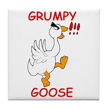 Grumpy Goose Tile Coaster