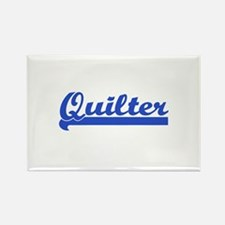 Quilter - I Quilt Rectangle Magnet