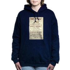Pony Express Vintage Pos Women's Hooded Sweatshirt