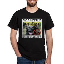 Wanted K-9 Killers T-Shirt