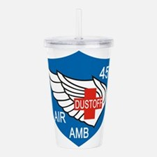 45th Medical Dustoff P Acrylic Double-wall Tumbler