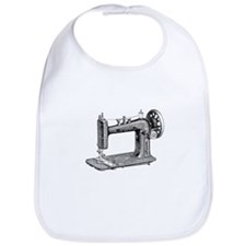Vintage Sewing Machine Bib
